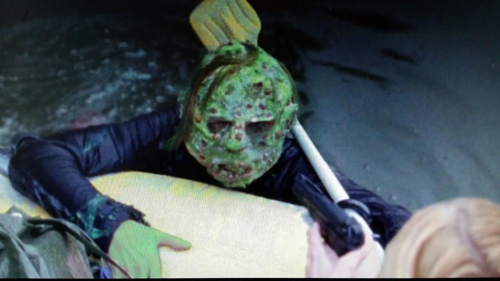 Nesten like grønn som zombiene i Jean Rollin`s ZOMBIE LAKE.