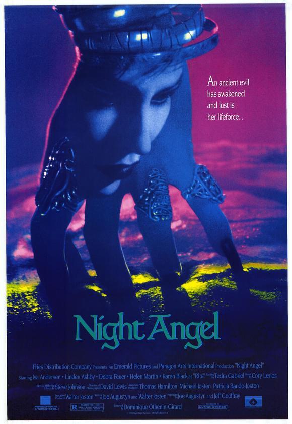 VHS-coveret til NIGHT ANGEL.