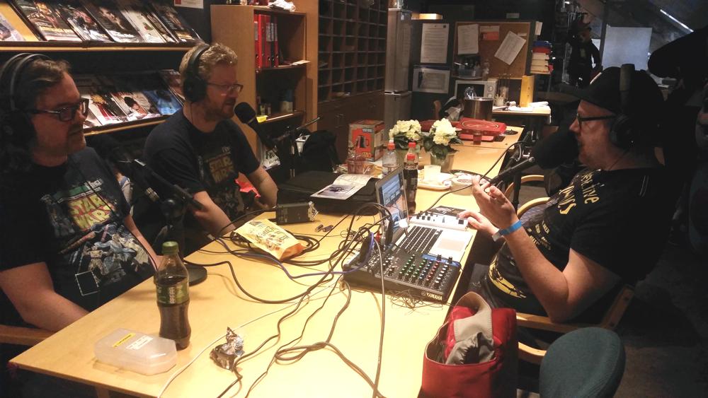 Innspilling av podcast som kommer 14. mai