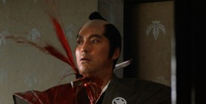 lone-wolf-and-cub-sword-of-vengeance-1972-movie-review-sword-through-neck-blood